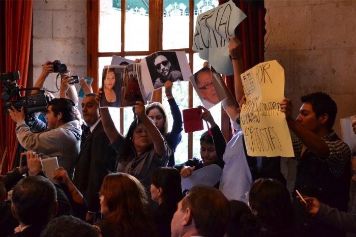 Violencia contra periodistas no proviene únicamente del crimen