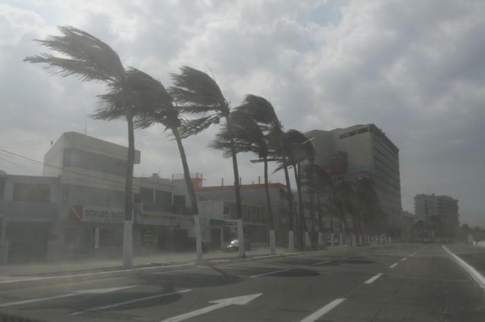 Lluvias, norte y ambiente frío para este sábado en Veracruz