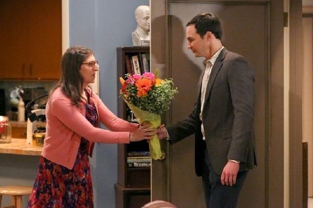 Así es el vestido de novia para la boda entre Amy y Sheldon