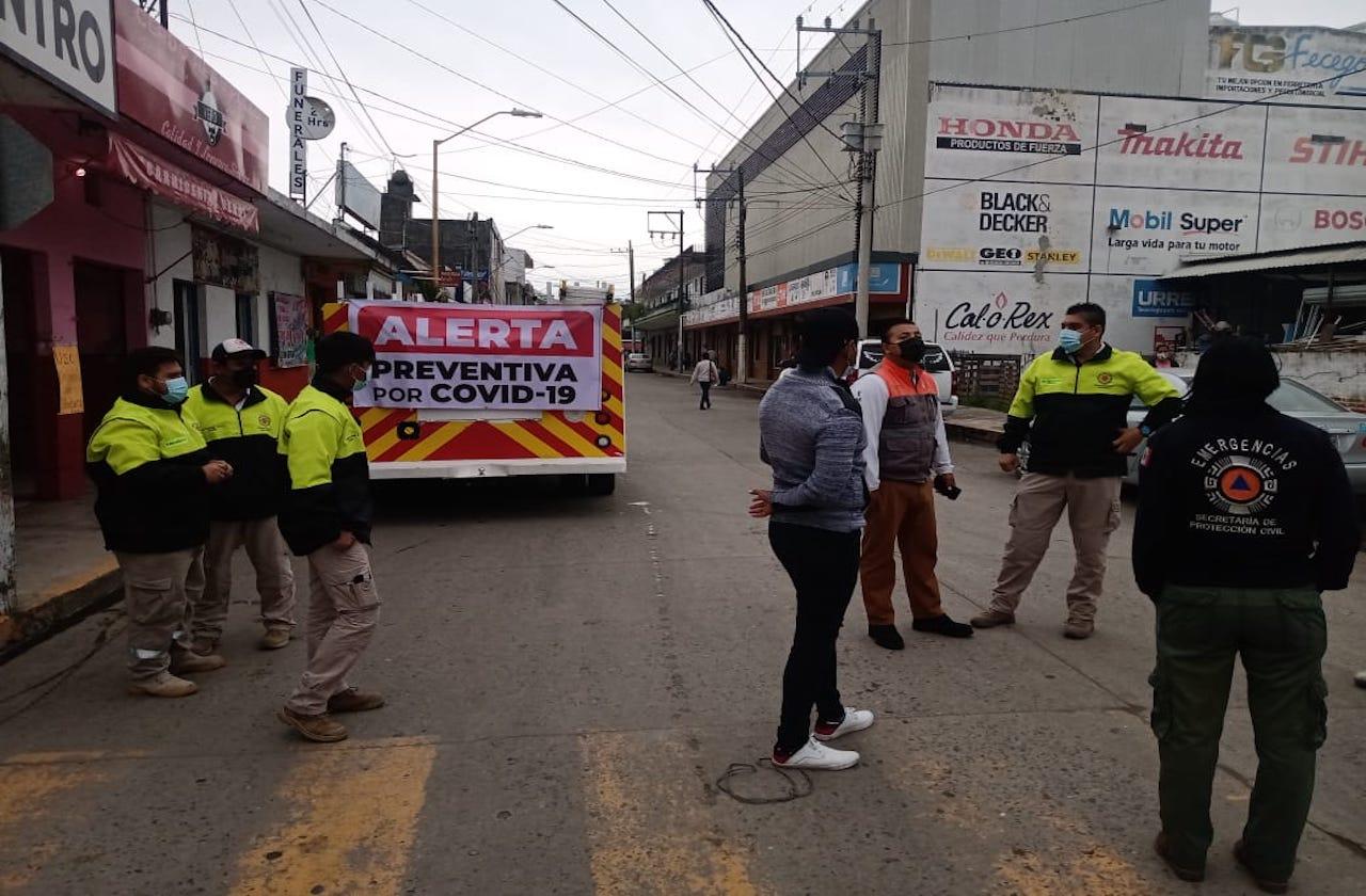 Nueva Alerta Preventiva por covid en 84 municipios de Veracruz