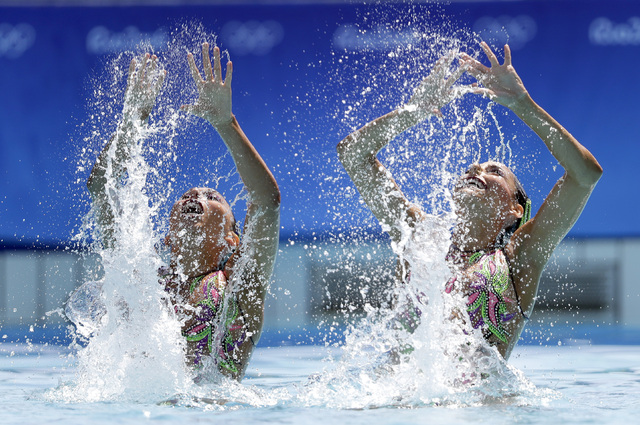 Tras 16 años, México a la final de nado sincronizado en JO