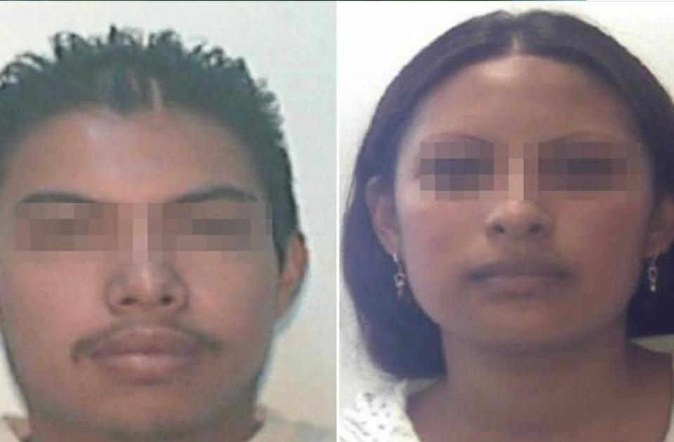 Jovana N y Alberto N, los presuntos responsables del secuestro y muerte de Fátima