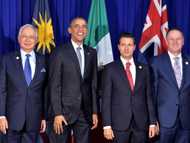 Se reúne Peña Nieto en Manila con Obama y Shinzo Abe