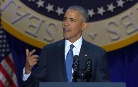 Barack Obama se despidió del pueblo estadounidense con este discurso