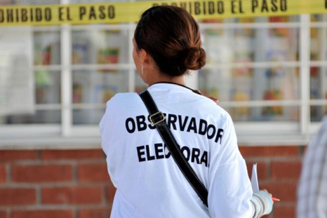 Observadores electorales del extranjero llegan a Veracruz
