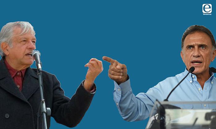 Yunes Linares y López Obrador protagonizan nuevo duelo verbal