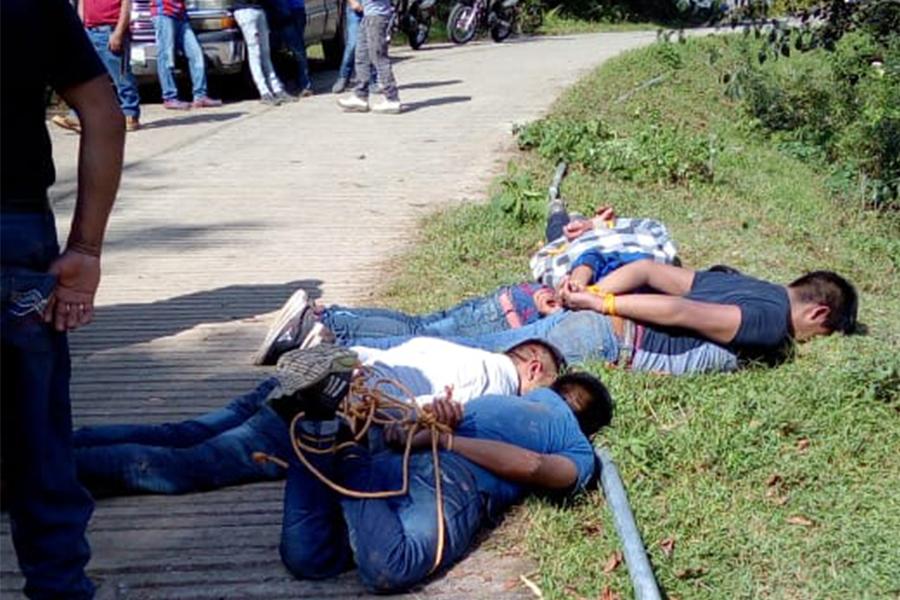 Linchan a presuntos ladrones y plagiarios en La Perla