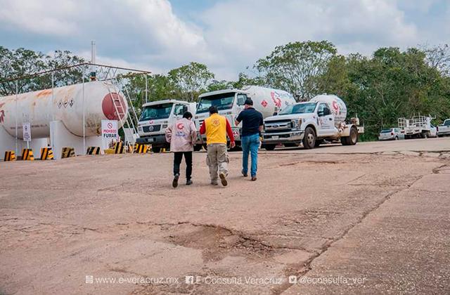 Olor a gas enciende alarmas en municipios del sur de Veracruz