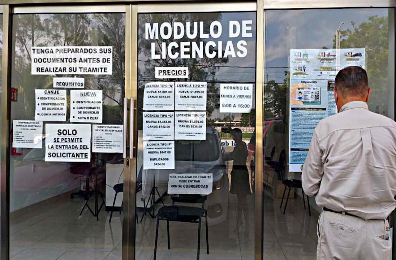 Operan módulos de licencias durante pandemia