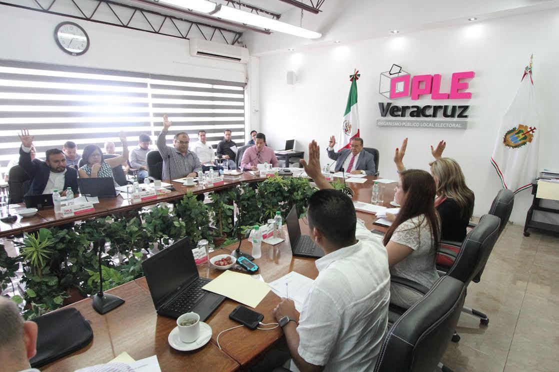 Aprueba OPLE sustitución de candidatos a ediles en cuatro municipios del estado