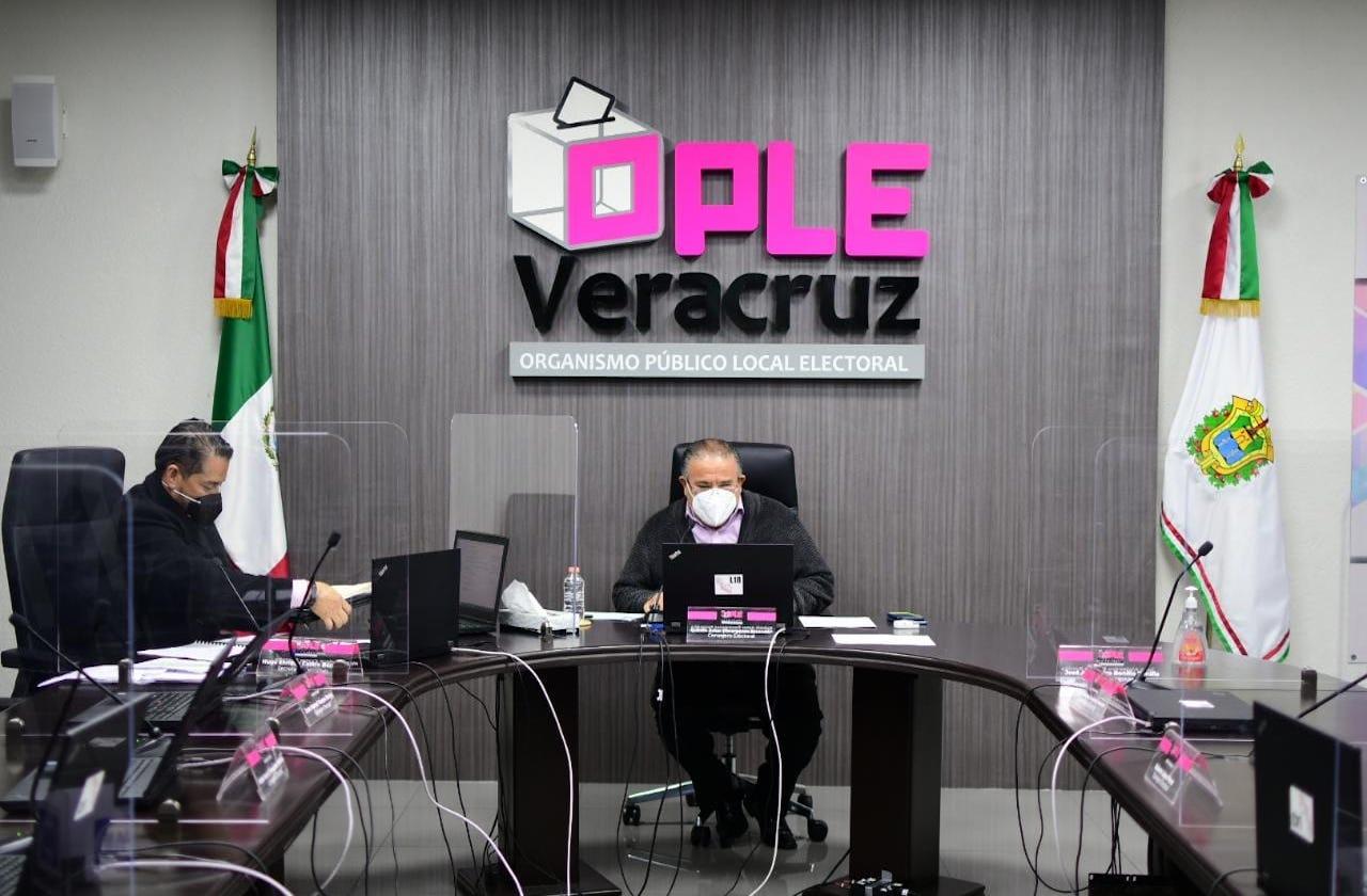 Previo a conteos, Ople pide seguridad en 96 consejos de Veracruz