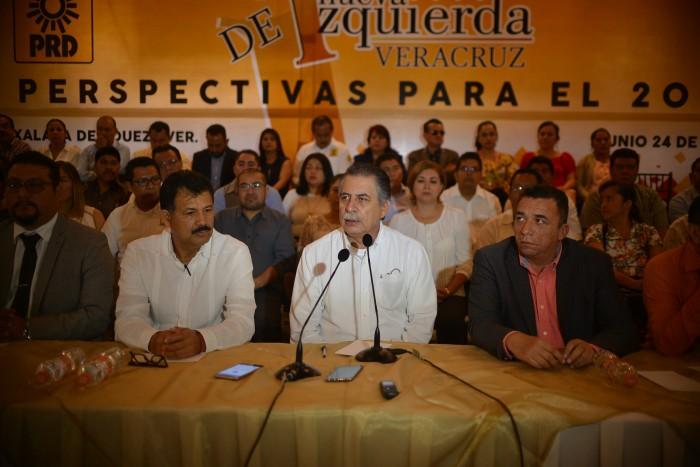 Acuerda PRD frente contra PRI en 2018