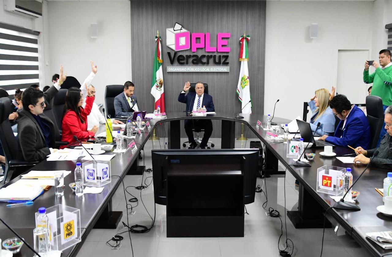 PT, MC y PES se quedan sin financiamiento en Veracruz