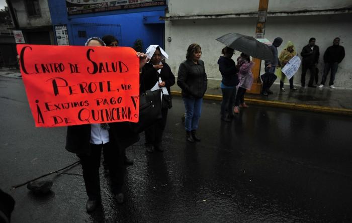 Trabajadores de salud desconocen a su lideresa Luisa Ángela Soto Maldonado