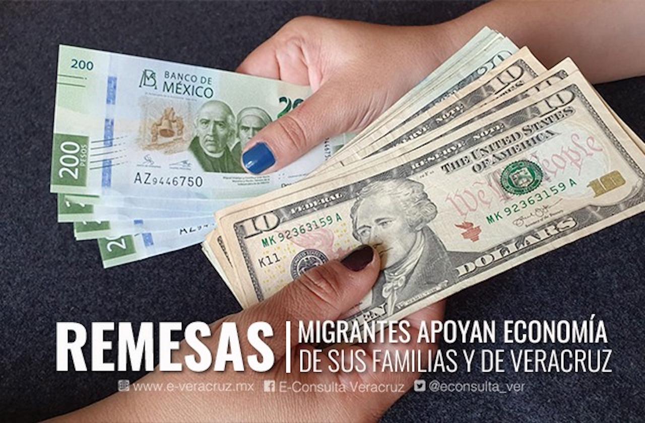 Paisanos sostienen economía de Veracruz con remesas en pandemia