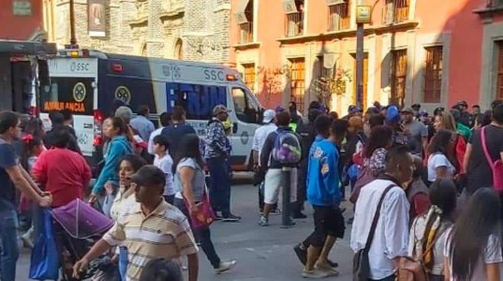 Balacera cerca de Palacio Nacional deja cuatro muertos