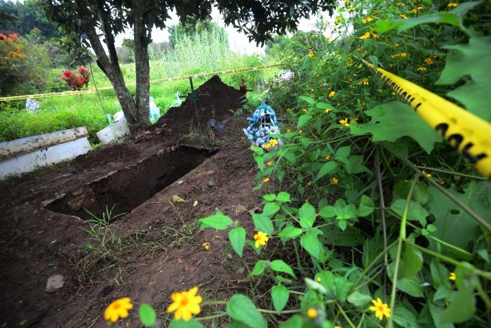 Joserra: Se debe investigar quien ordenó la inhumación de cuerpos