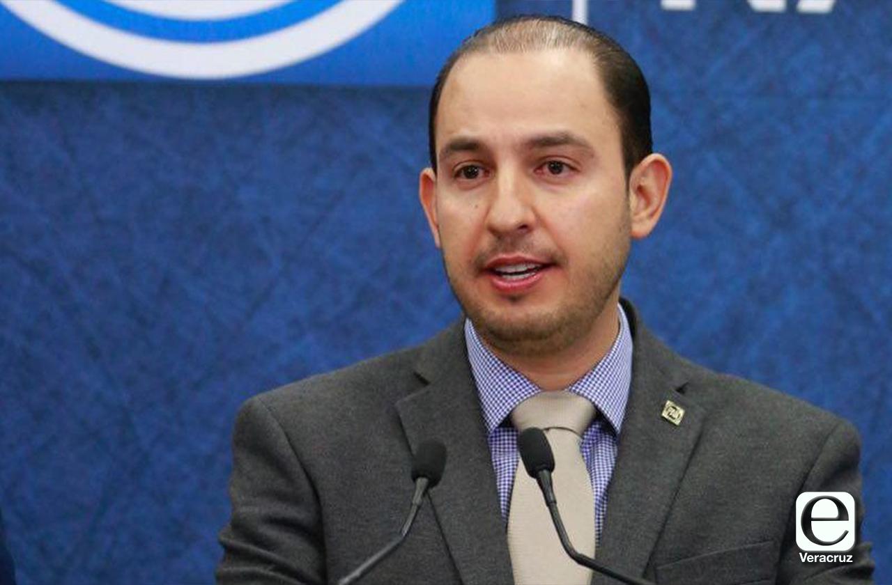 Marko Cortés avala alianzas del PAN en Veracruz