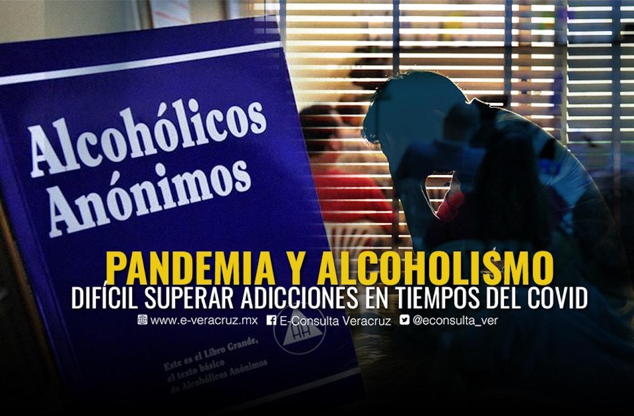 Pandemia pone en riesgo rehabilitación de alcohólicos en Xalapa