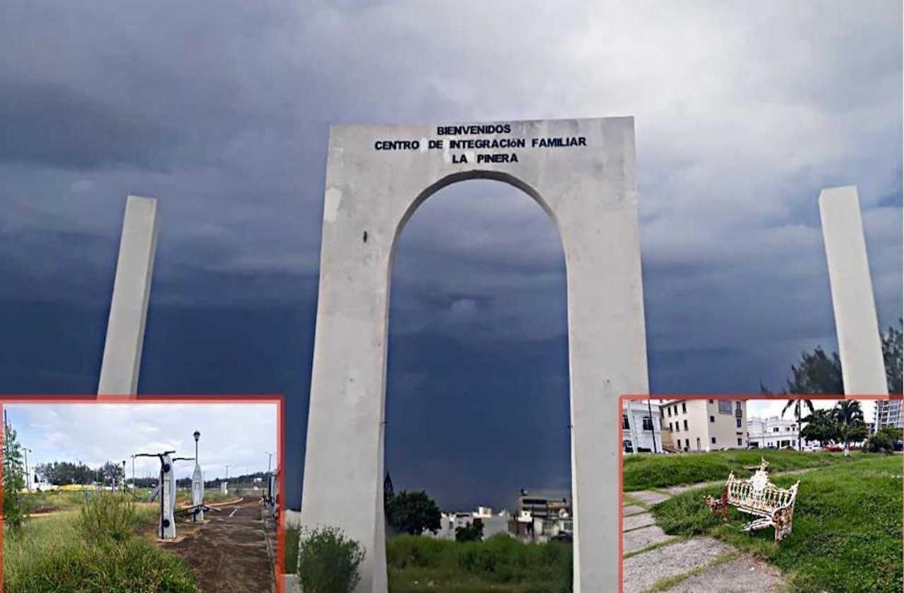 Pandemia propició abandono de espacios públicos de Veracruz