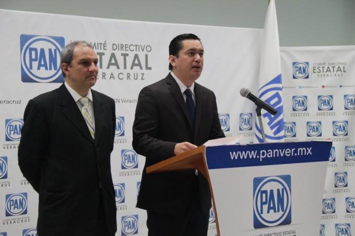 PAN se deslinda de su candidata en Juchique de Ferrer