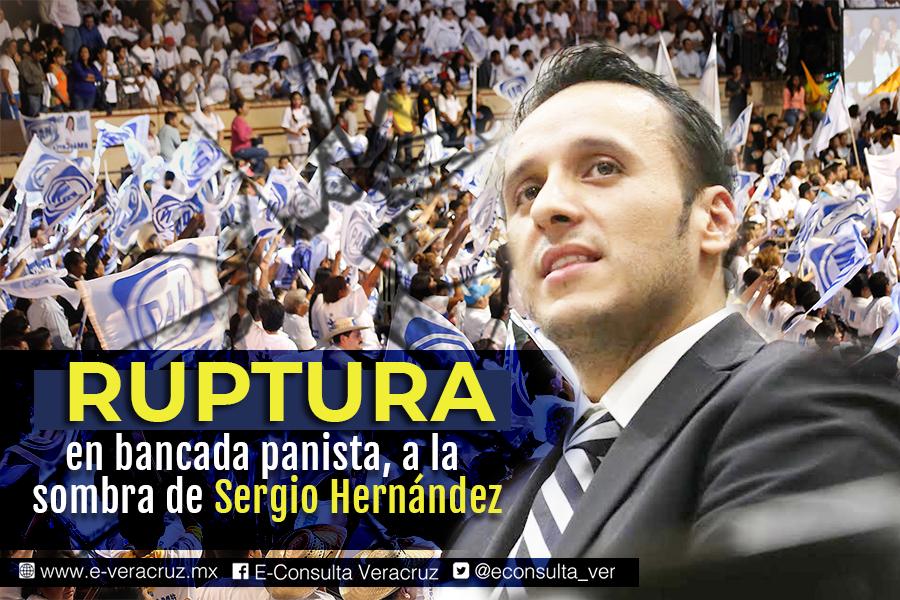 La debacle de Sergio Hernández en el Congreso de Veracruz
