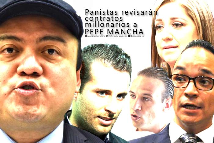 Diputados panistas revisarán asignación de contratos millonarios a José Mancha