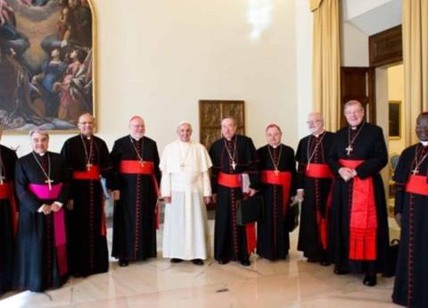 Por abusos sexuales, el Papa deja fuera del consejo a cardenales