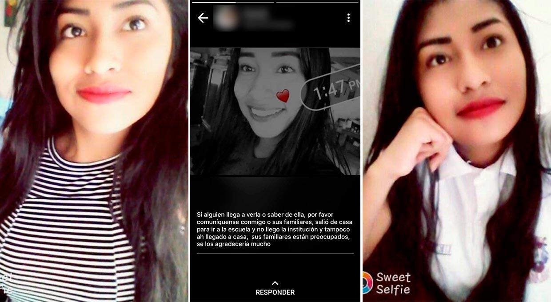 SE BUSCA | Diana Paloma de 16 años desapareció en Papantla