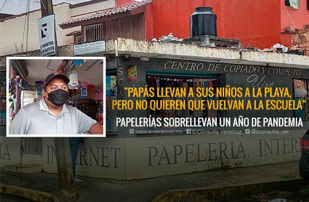 Papelería Yire de Xalapa, ansía regreso a clases para elevar ventas