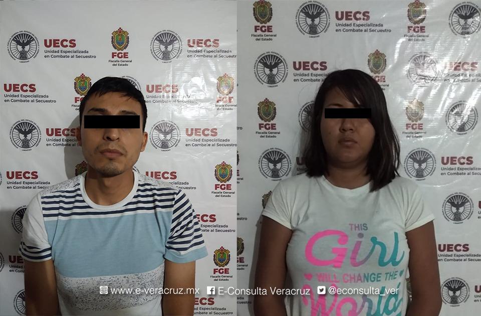 Novios simularon secuestro para cobrar juntos 70 mil pesos