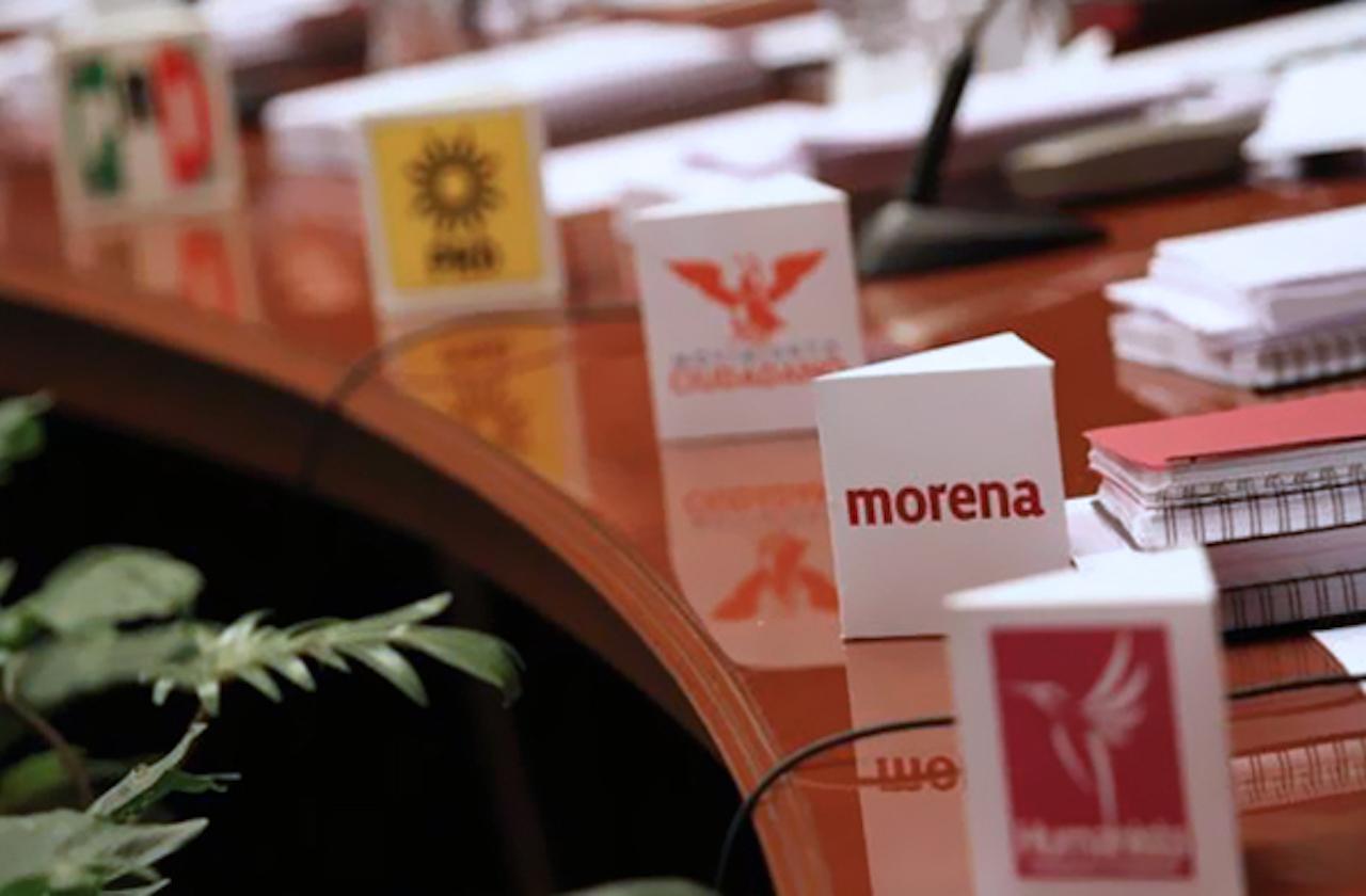 Con apoyo de PRI y PAN, Morena reduce a la mitad financiamiento de partidos