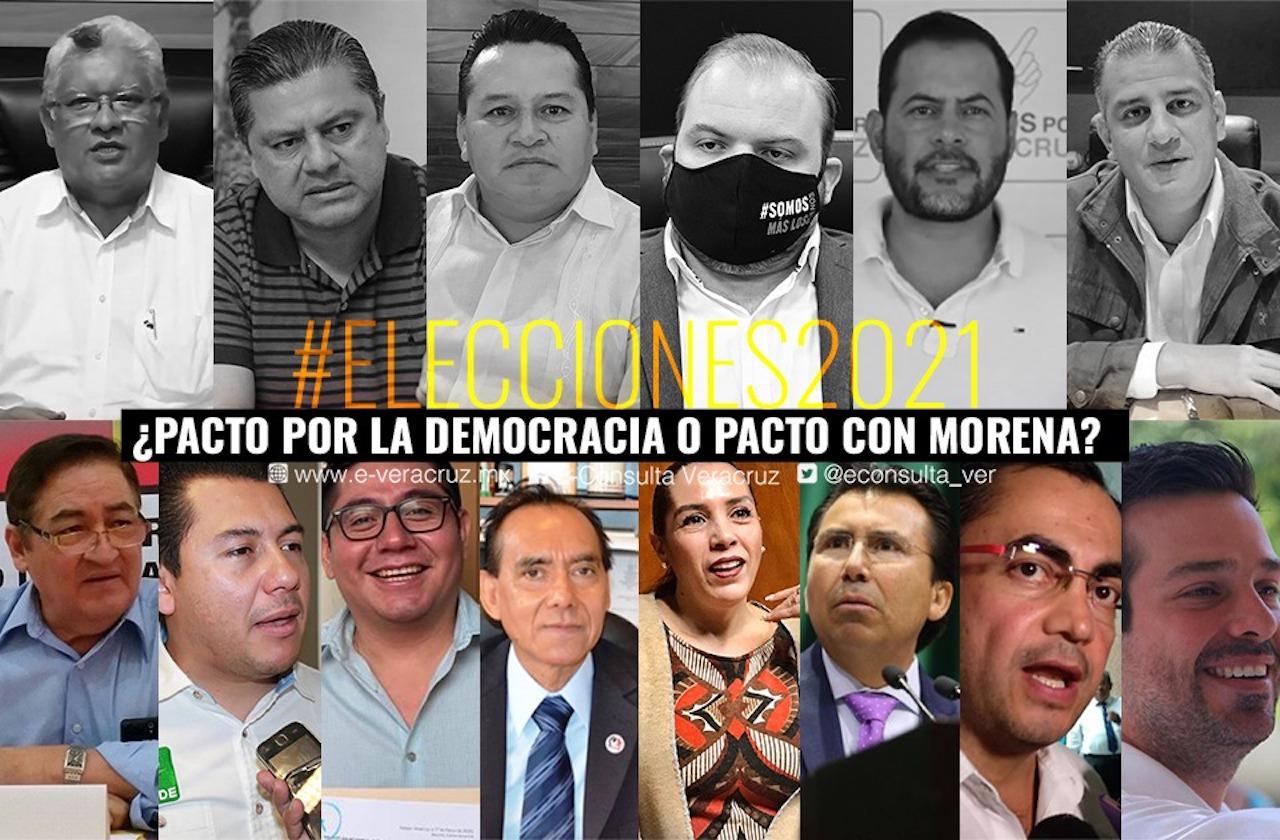 Sin PAN-PRI-PRD, Cuitláhuac firma pacto electoral con satélites