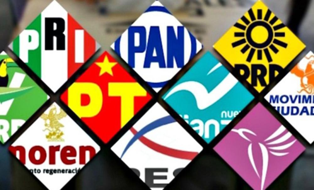 Partidos políticos recibirán 460 mdp para elecciones del 2018