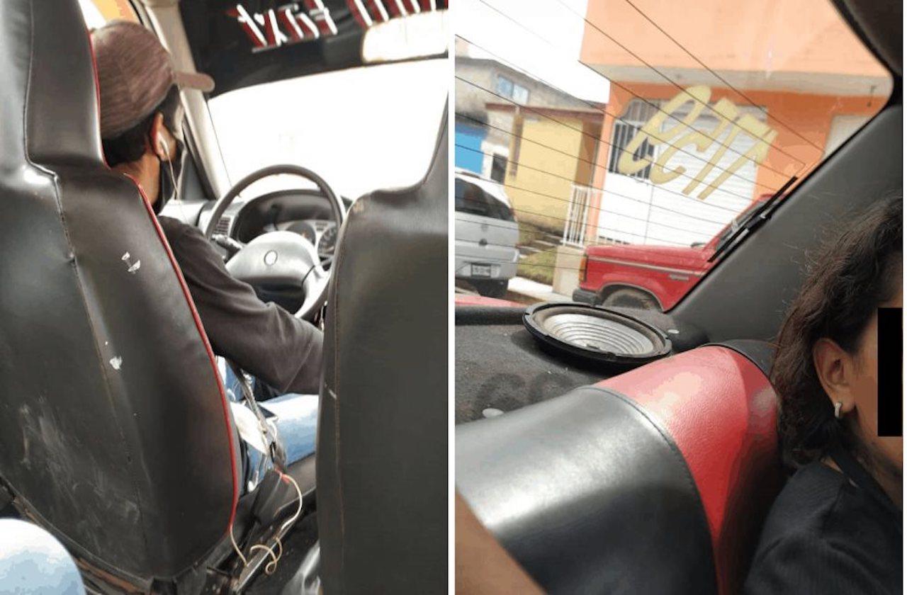 Exhiben a taxista de Orizaba por masturbarse frente a pasajera