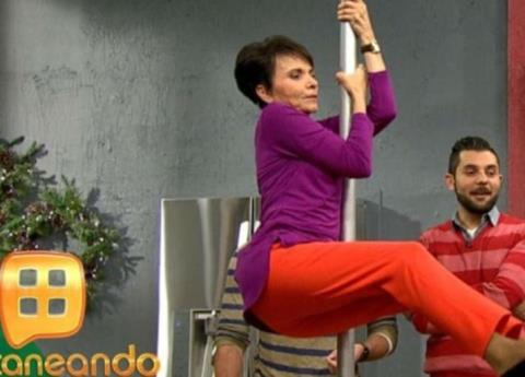 VIDEO: Paty Chapoy hace pole dance y le llueven memes