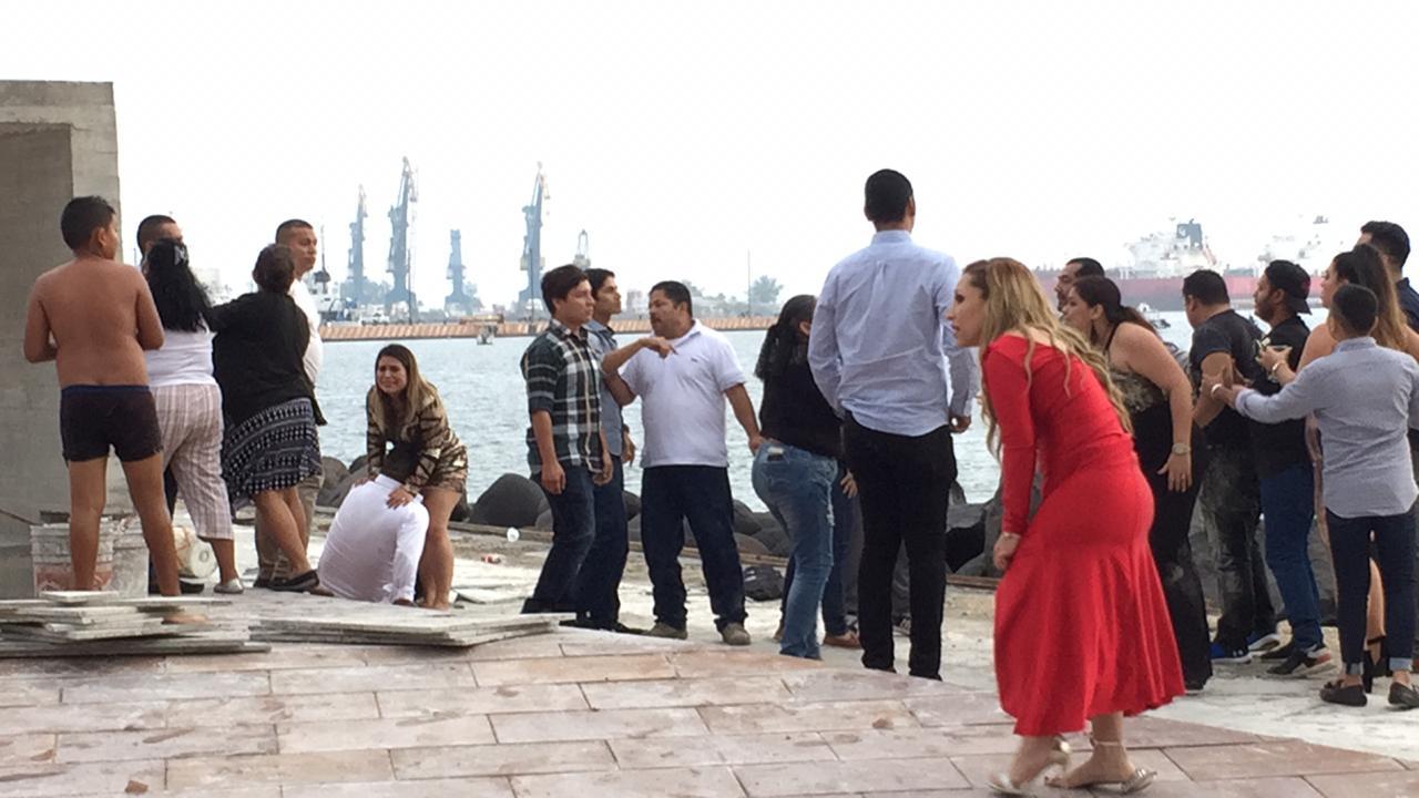 A golpes comienzan el 2019 en el puerto de Veracruz