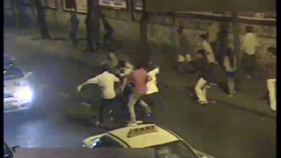 Pelea fuera de un bar en Xalapa deja dos lesionados