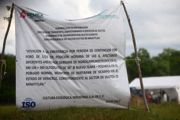 Veracruzanos temen afectaciones por exploraciones de Pemex