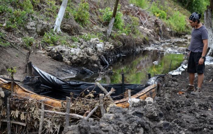 Pemex deja contaminación y destrucción: Ejido Emiliano Zapata