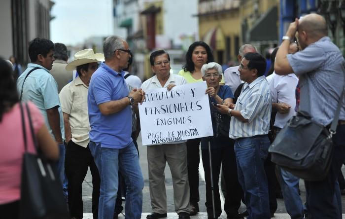 Preparan petición formal para que gobierno estatal subsidie pensiones