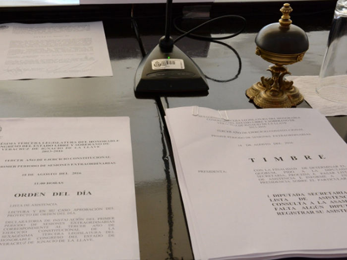 Gustavo Gudiño Corro y David Velasco Chedraui piden licencia