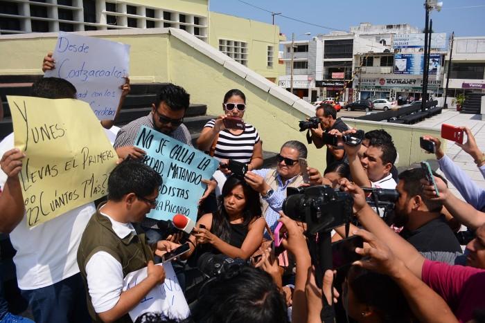 Reporteros veracruzanos exigen justicia para Armando Arrieta
