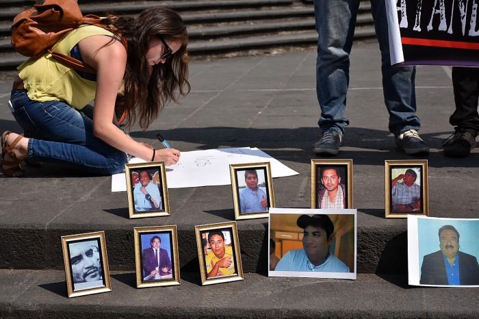 Periodistas se unen a protesta nacional contra asesinatos