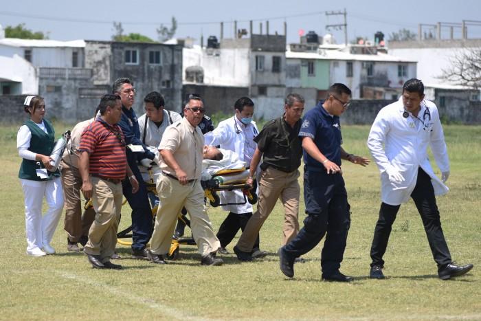 Reportan estado de salud grave de periodista baleado en Poza Rica