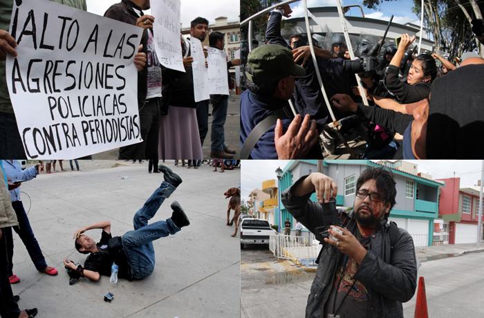 Intolerable la represión en Veracruz: Mecanismo de Protección