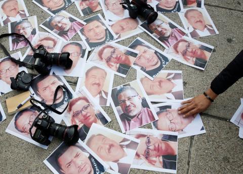 México: promedio de un periodista asesinado al mes, suman 44 con EPN
