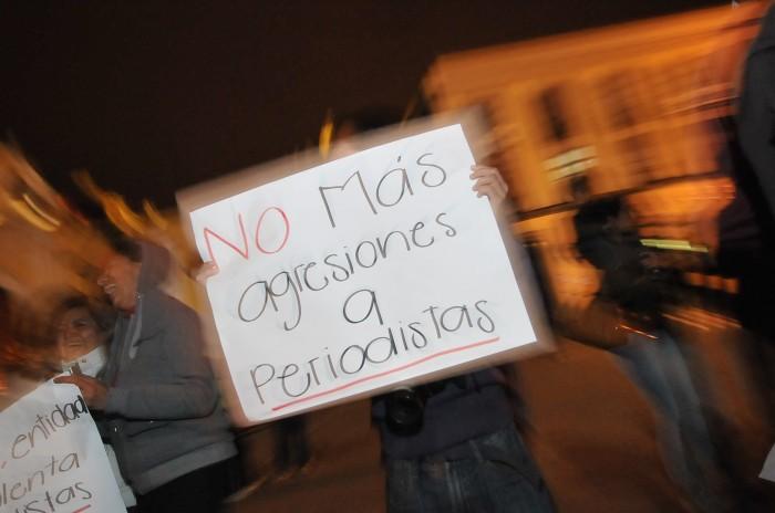 Periodista de Agua Dulce fue agredida por funcionario municipal