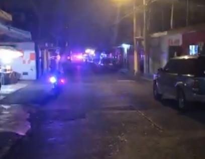 Persecución en Xalapa luego de que comando disparó a policías