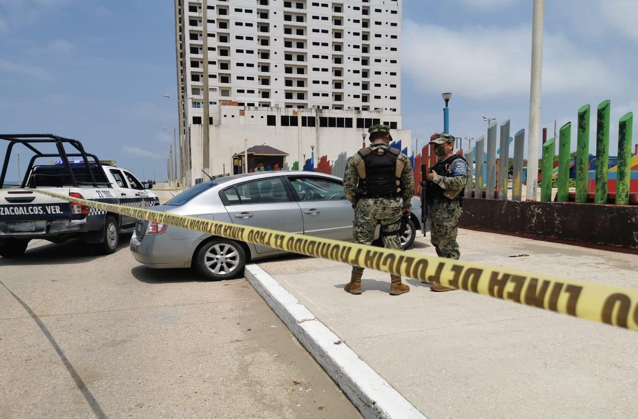 Persecución y balacera en malecón de Coatza; hay 3 detenidos